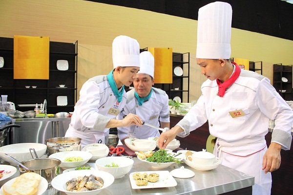 Nghề đầu bếp đang phát triển mạnh mẽ ở các trường trung cấp nghề
