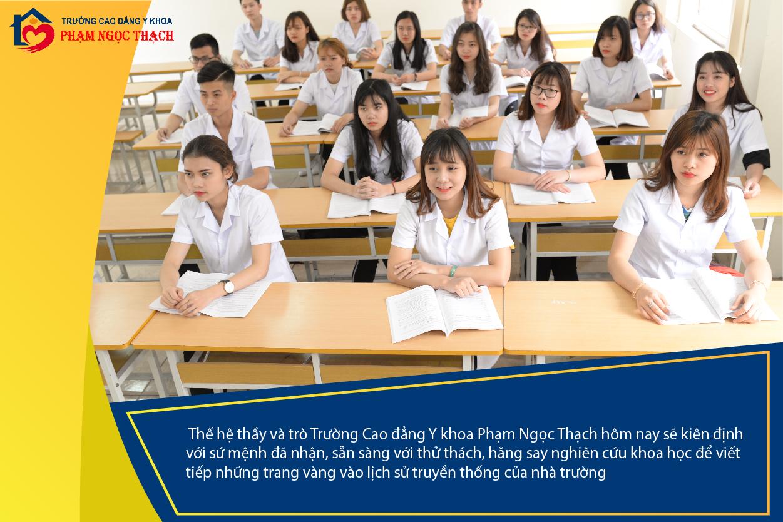 Trường Cao đẳng Y Khoa Phạm Ngọc Thạch tuyển sinh ngành Dược 2019