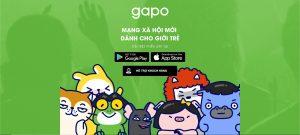 Mạng xã hội Gapo được sử dụng rộng rãi