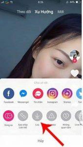 Tải video trên Tik Tok về điện thoại Oppo