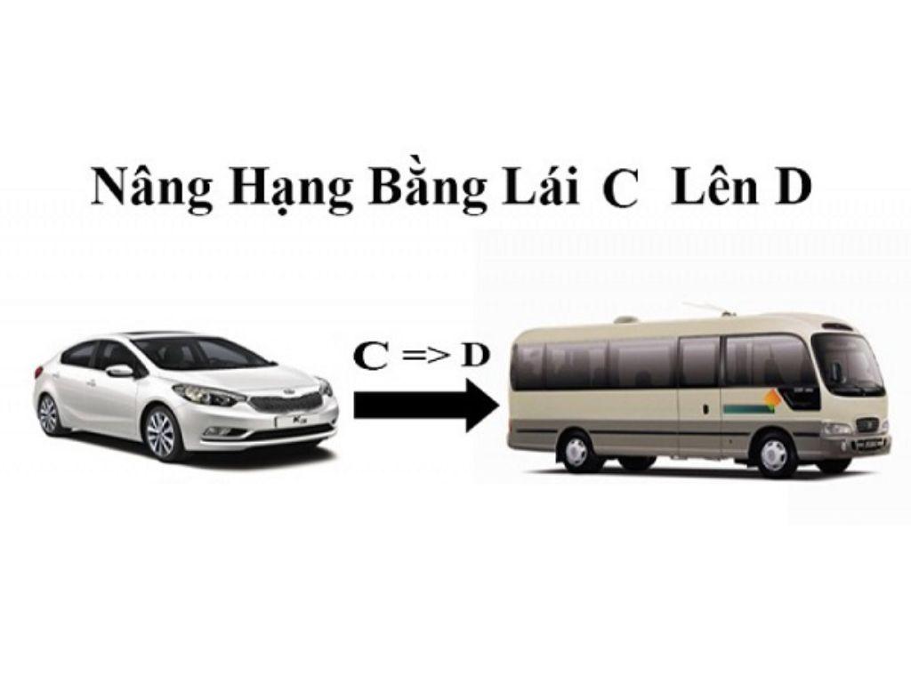 Bằng lái xe hạng d lái được xe nào